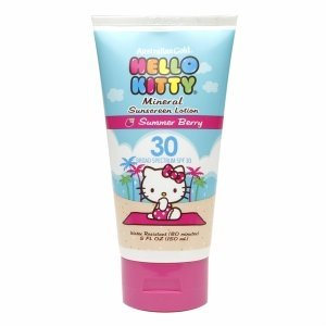 Australian Gold Hello Kitty Mineral Sunscreen Lotion, SPF 30, Berry 5 oz - 1