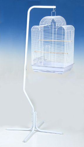 Cheap Ppd White Universal Bird Cage Stand (C7)