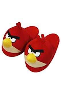 Angry Birds MBE-AB041 Bird Slipper, Red
