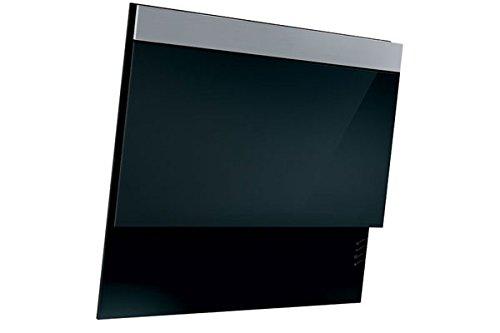 NORDMENDE CHDBGL803 Black Glass 80cm Designer Chimney Hood