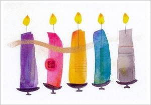 Hanukkah Greeting Card - Season of Light