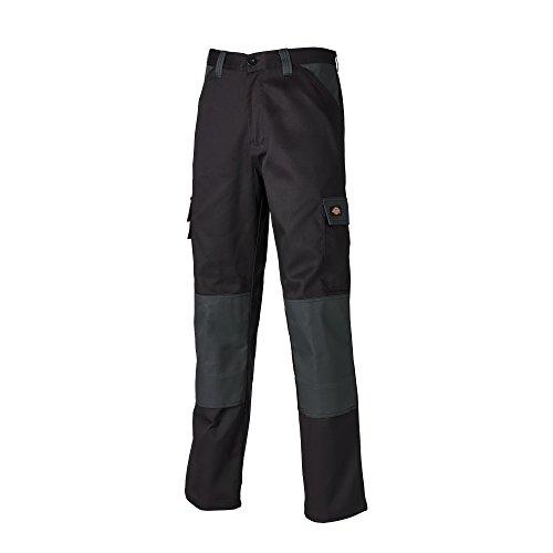 "Dickies - Everyday - Pantaloni tasche cargo - Uomo (32"" - 81 cm - C) (Nero/Grigio)"
