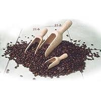 Wood Coffee/spice scoop,4 long