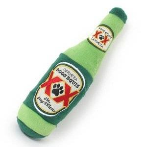 Dogs Equis Beer Dog Toy--