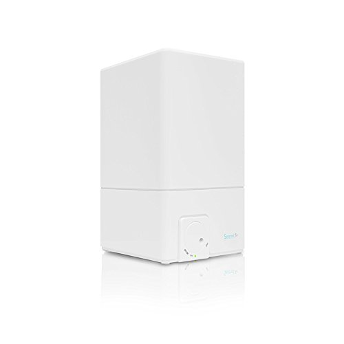 SereneLife Unheated Mist Ultrasonic Humidifier for Home and Office - No Noise, Filter Free and Adjustable Vapor - 4.1L