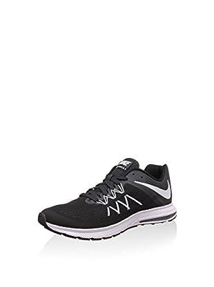 Nike Zapatillas Zoom Winflo 3 (Negro / Blanco / Antracita)