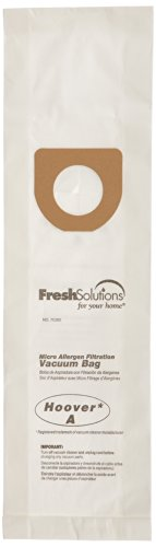 Fresh Solutions 70360 Hoover A / Bissell Style 2, Micro Filtration Vacuum Bags, Qty 3