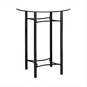 Medium Euro Bistro Table Base Finish: Aged Iron