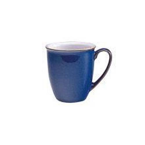 Denby Imperial Blue Coffee Beaker Mug 10 cm