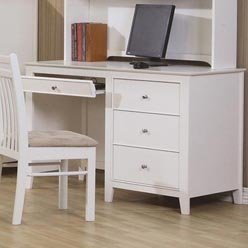Buy Low Price Comfortable Selena Computer Desk with Drawer Storage by Coaster (B0051PEE06)