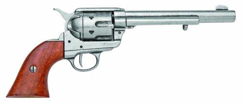 Denix Cavalry Model Revolver (Pewter) - Non-Firing Replica (Gun Replica Non Firing compare prices)