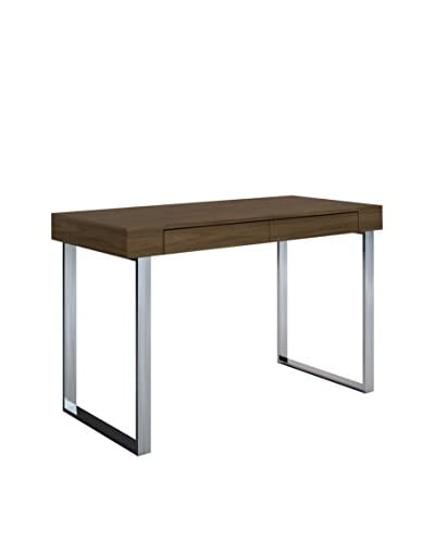Whiteline Alaska Desk Large, Walnut