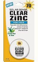 Solar Sense Clear Zinc Advanced Sun Protection SPF 70 Cream for Face -- 0.5 oz. - Solar Sense at Sears.com