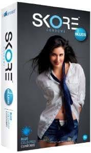 Skore Blues 10's Condom
