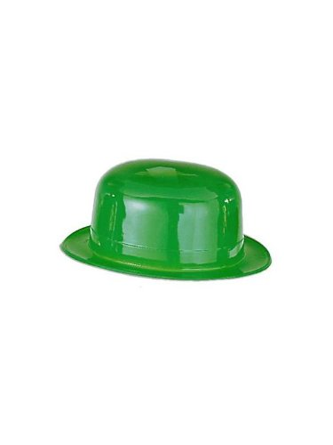 St. Patricks Day Leprechaun Green Derby Hat Costume