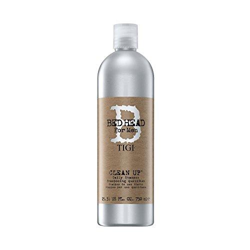 Tigi Shampoo, Bed Head For Men Clean Up Daily, 750 ml