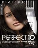 Clairol Nice 'N Easy Perfect 10 #4 Dark Brown