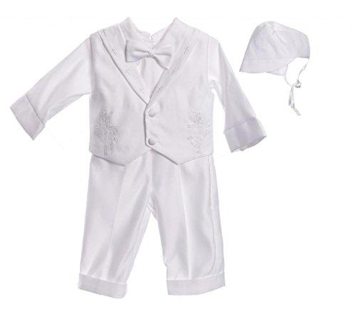 Caldore Baby Boys Cross Collar Pants Set Size Medium