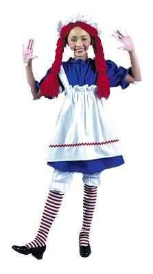 Toddler Raggedy Anne or Rag Doll (Wig not included)