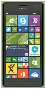 Post image for Nokia Lumia 735 LTE (grün) für 175€ – 4,7 Zoll Windows Phone 8.1 Smartphone *UPDATE*