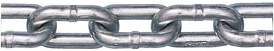 Peerless 5011134 Grade 30 Low Carbon Steel Proof Coil Chain in Half Drum Zinc Plated 316quot Trade 0