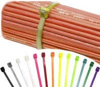 "7"" Cable Ties - Neon Yellow - 100Pcs"