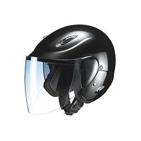 マルシン工業 セミジェットヘルメット M-510 ブラック フリーサイズ(57~60CM)