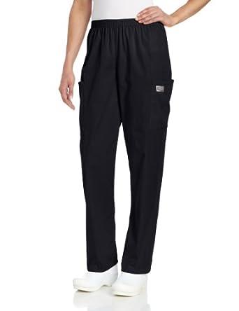 Scrub Zone 83221 Women's Cargo Pant Black XX-Small Petite