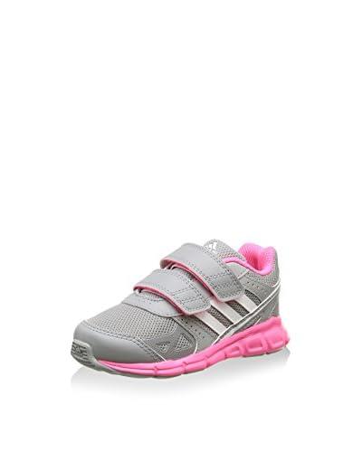 ADIDAS Sneaker Hyperfast Cf I [Grigio/Rosa]