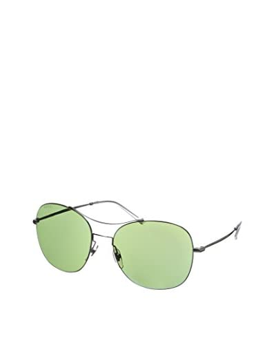 GUCCI Women's GG 4253/S Ruthenium/Green Blue Mirror Sunglasses
