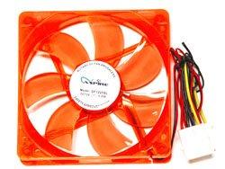 Apevia Cf12Sl-Ured Red Led Case Fan