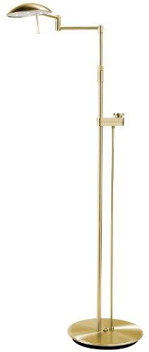 Holtkoetter 6317Ledsld Bb Led Floor Lamp With Side Line Dimmer, Brushed Brass