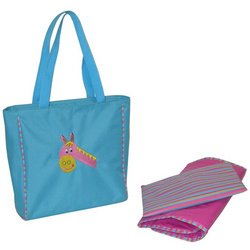 Circle of Friends Day Bag - Blue Horse