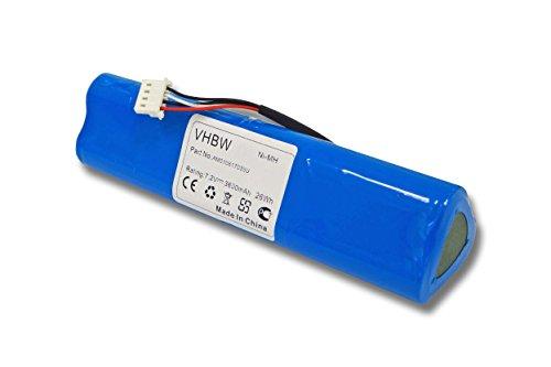 Batterie Ni-MH 3600mAh 7.2V compatible pour FLUKE remplace BP190, BP-190, B11432