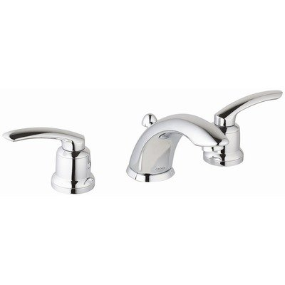 Grohe Talia Eco Friendly Widespread Bathroom Faucet - Starlight Chrome