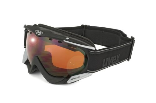 UVEX Skibrille Apache, black mat, One size, S55.0.079.2222
