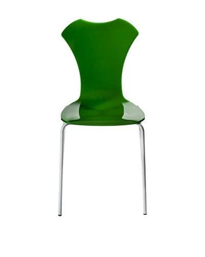 IPLEX Set Silla 2 Uds. Neglige Verde