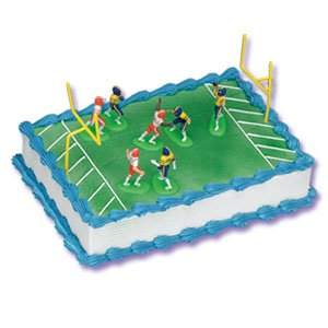 Amazon.com: Football Game Cake Decorating Kit - Topper