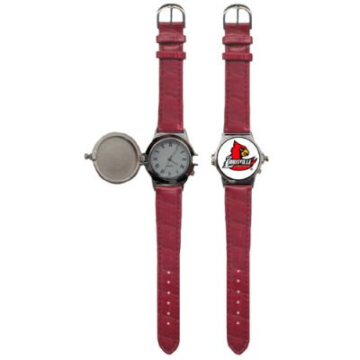 Siskiyou Collegiate Wrist Watch - Louisville Cardinals