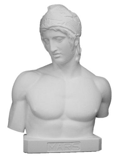 石膏像 K?122 ボルゲーゼのマルス胸像(台付) H.83cm