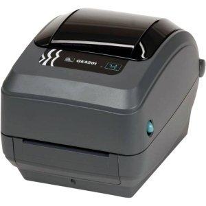 Zebra GK420t Direct Thermal/Thermal Transfer Printer - Monochrome - Desktop - Label Print. GK420 TT USB SERIAL CP US BP-LB. 5 in/s Mono - 203dpi - USB (Zebra Thermal Transfer Printer compare prices)