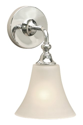 Premier 617307 Sonoma Vanity Fixture 1-Light, Chrome
