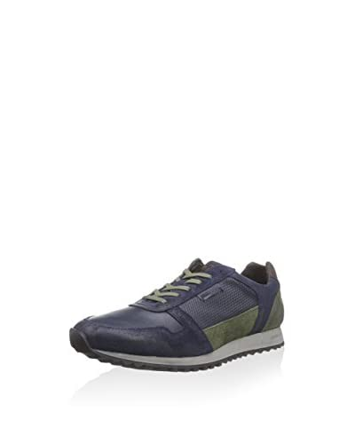 Cycleur de luxe Sneaker [Blu/Verde]