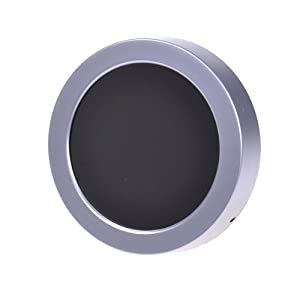 portable light battery powered round led wall