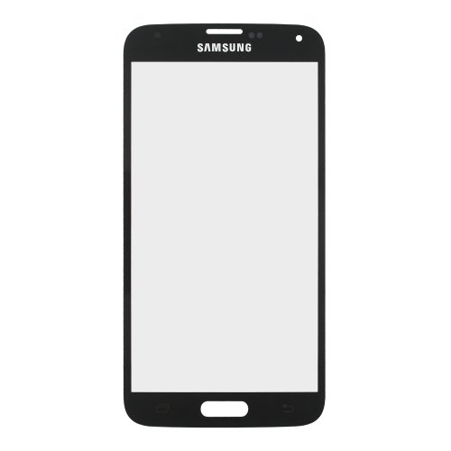 Front Screen Outer Glass For Samsung Galaxy S5 G900 Lens Replacement + Tools - Charcoal Black