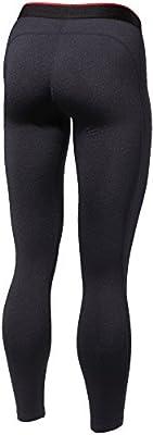 TM-WP16-BLK_Small Tesla Women's Compression Under Leggings Base Layer Gear Armour Wear Pants