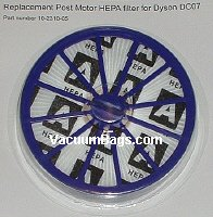 Dyson Dc07 Motor