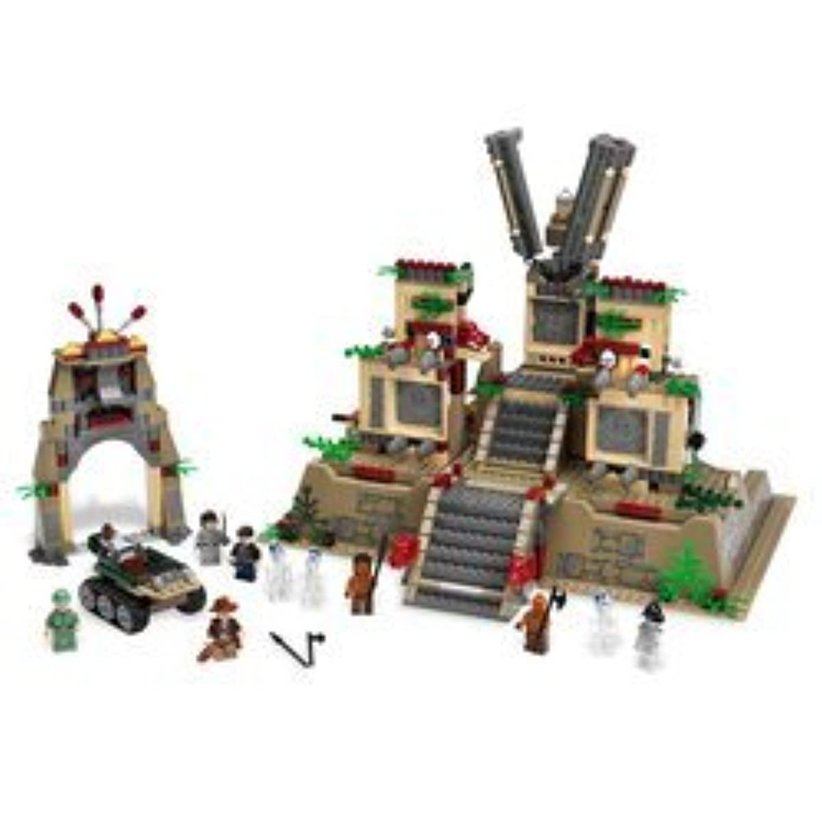 [해외] LEGO� INDIANA JONES TEMPLE OF THE CRYSTAL SKULL