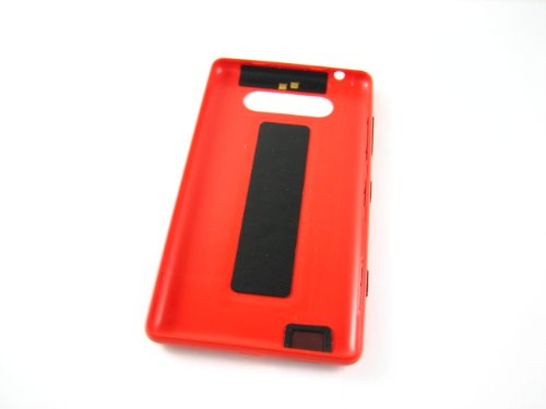 Nokia Lumia 820 ~ Red Back Cover Housing ~ Repair Part Replacement