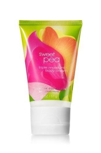 バス&ボディワークス スイートピー ミニサイズクリーム Sweet Pea triple moisture Mini body cream